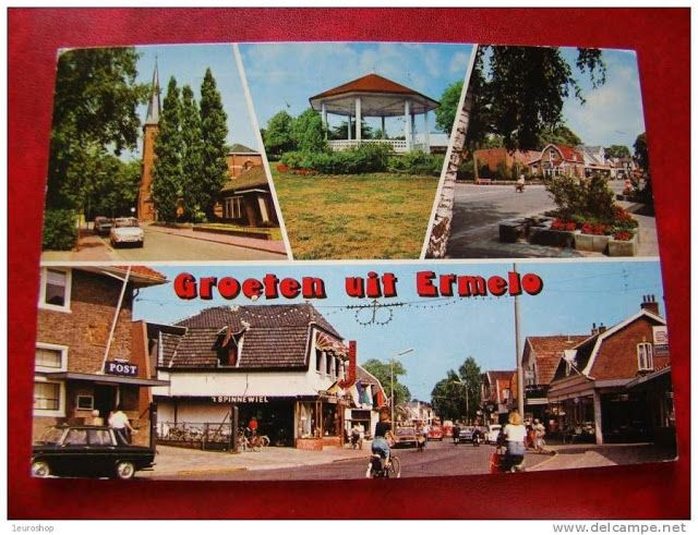 An old postcard from Ermelo in the sixties