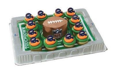Denver Broncos Cupcake Platter