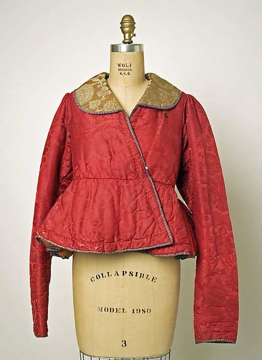 Jacket Date: probably 19th century Culture: Russian Medium: silk