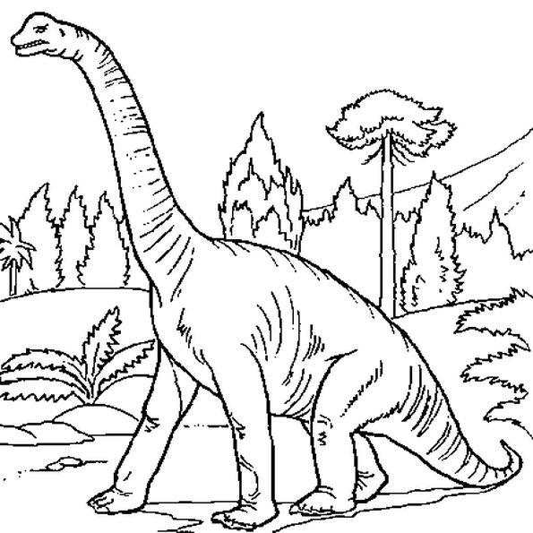 лего брахиозавр раскраска через несколько