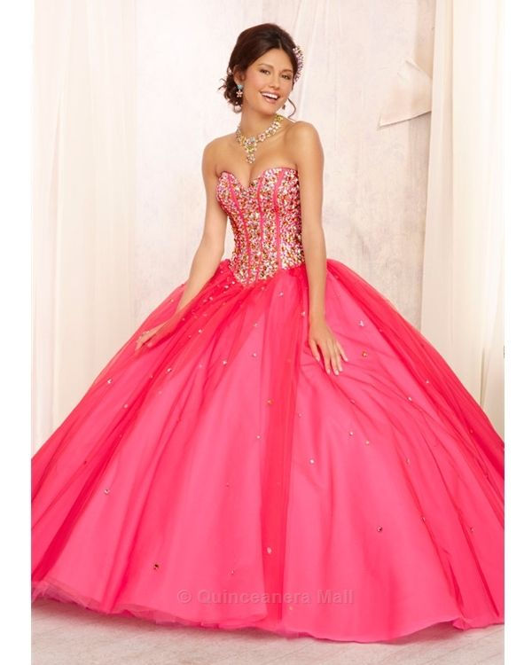 17 Best images about Quinceañera Dresses on Pinterest | Pink ...