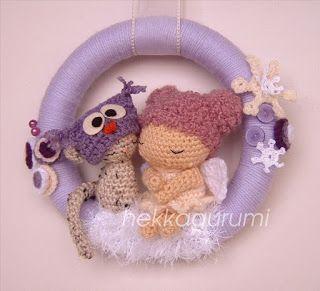 hekkagurumi - amigurumi, horgolt babák, bubák
