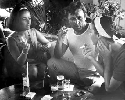 Elizabeth Taylor, Richard Burton and Ava Gardner http://www.puertovallarta.net/fast_facts/puerto-vallarta-a-love-story.php