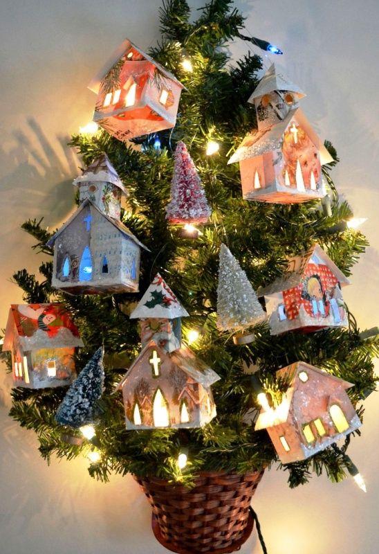 267 fantastiche immagini su christmas decorations su for Christmas decoration 94
