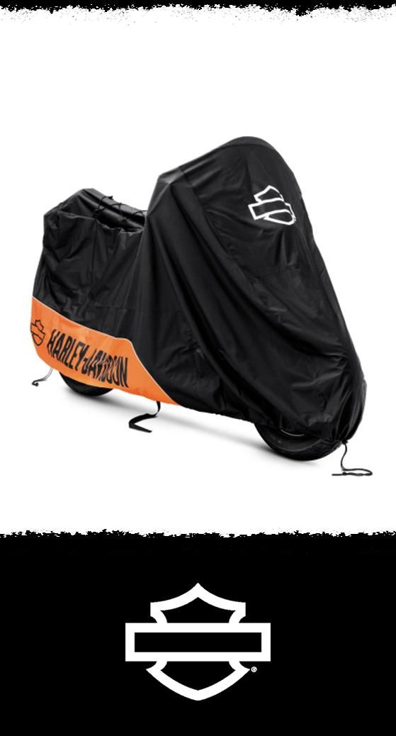 Heavy-duty indoor/outdoor motorcycle cover. | Harley-Davidson Indoor/Outdoor Motorcycle Cover