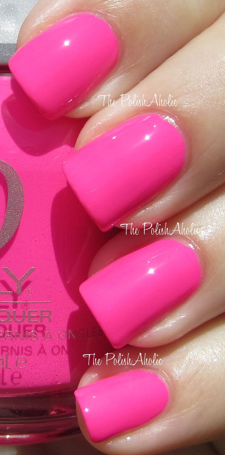 Best 25+ Neon Pink Nail Polish Ideas On Pinterest