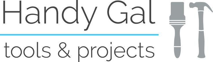 Handy Gal Tools & Projects is my logo!  Google font 'Raleway'. Love the friendly approach