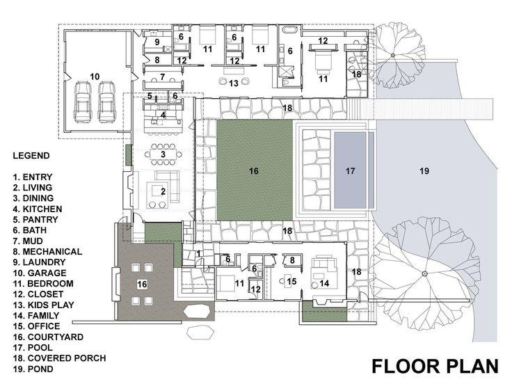 Casa de un piso con cuatro dormitorios   Construye Hogar