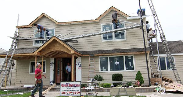 Bethpage Floor Renovation House Styles Garage Conversion