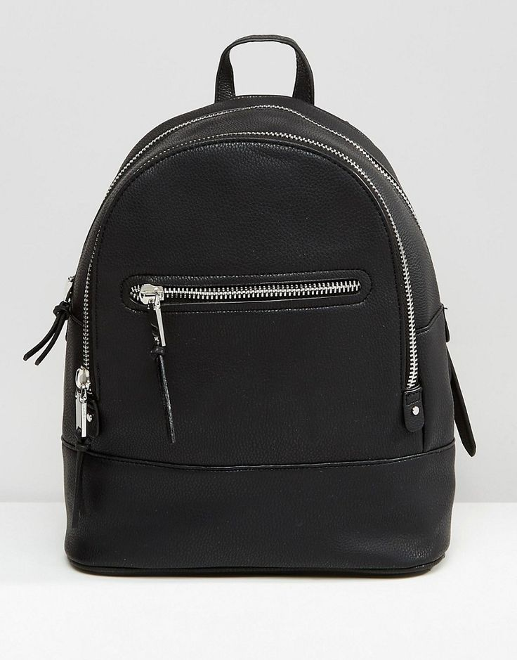 Image 1 of Mango Zip Detail Backpack