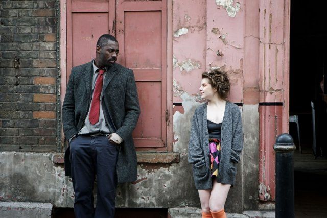 idris Elba , Aimee-ffion Edwards in Luther series 2