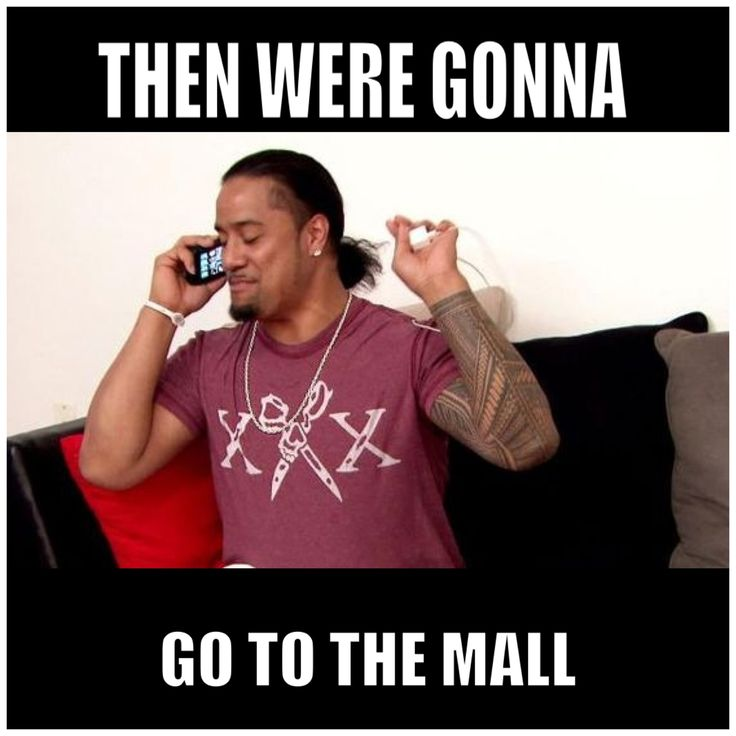 Jon Fatu aka Jimmy Uso isn't afraid to let out his silly side.