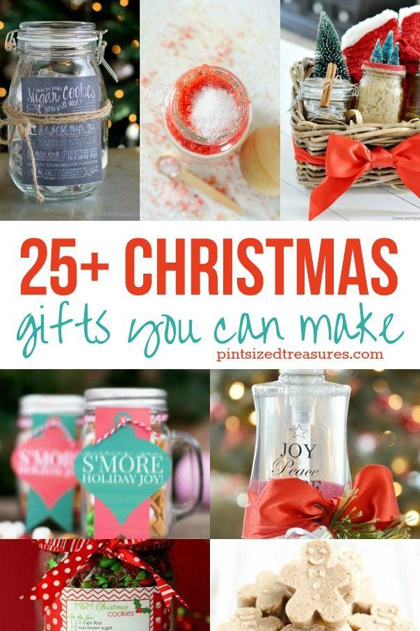 25 Christmas Gifts Anyone Can Make Homemade Christmas Gifts Diy Christmas Gifts Thoughtful Christmas Gifts