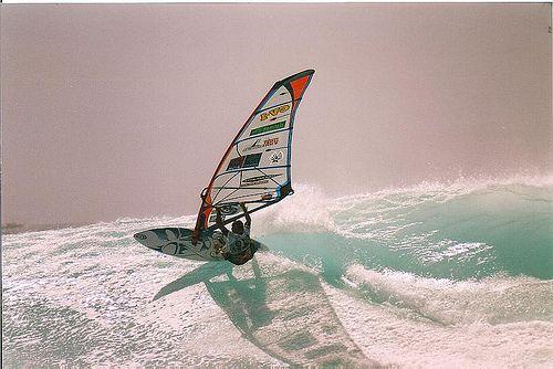 Josh Angulo riding @ Ponta Preta, PWA 2007