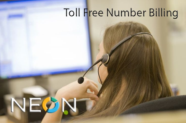 NEON TOLL FREE NUMBER BILLING  A toll-free telephone number or freephone number is a telephone number that is billed for all arriving calls instead of incurring charges to the originating telephone subscriber. For the calling party, a call to a toll-free number from a landline is free of charge.  http://neon-soft.com/integrations/billing/toll-free-number-billing/