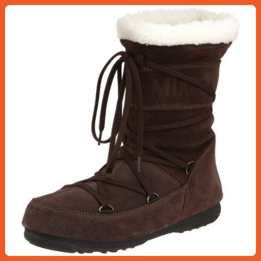 Tecnica Women's Butter Mid Faux Shearling Moon Boot,Dark Brown,37 EU/6 US - Boots for women (*Amazon Partner-Link)
