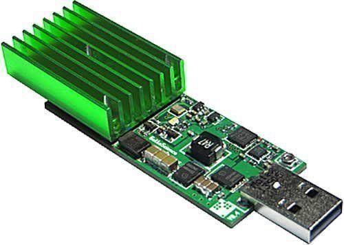 GekkoScience Compac USB Stick Bitcoin Miner 8gh/s+ (BM1384) #GekkoScience