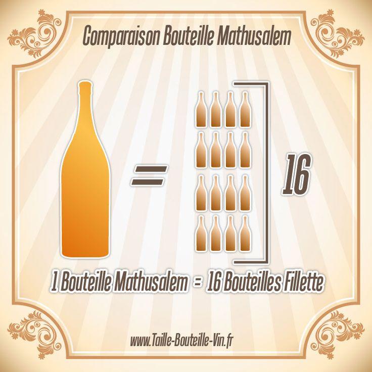 Comparaison entre la bouteille mathusalem et fillette