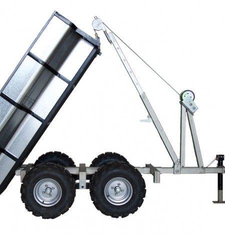 Woodland Open ATV Dump Box Trailer from Woodland Mills