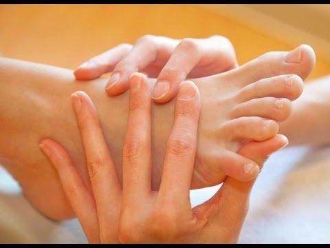 Reflexología Podal, puntos para los trastornos de la MENOPAUSIA / reflexology for menopause - YouTube