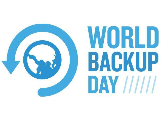 Oggi è il World Backup Day perché tutti facciano il backup