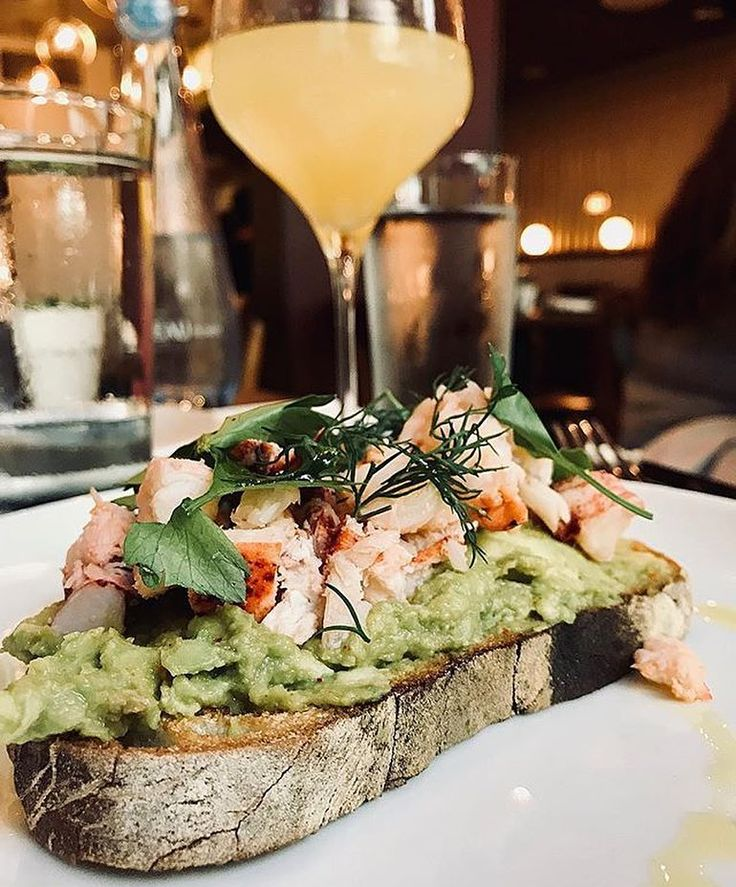 #Repost @nikki_takes_newyork  Dealing with the MondayBlues like... NationalLobsterDay : Lobster Avo Toast    This gorgeous divinely decorated gem of a restaurant @outeastnyc is the perfect little spot for breakfast lunch or dinner. Its nestled just off Avenue A and 6th Street in the EastVillage and of youre looking for good food and of course an instaworthy dining destination this is the spot for you! Go ahead dress your best because youll be snapping away at more than the food!