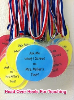 Head Over Heels For Teaching: Spark Student Motivation: Medals