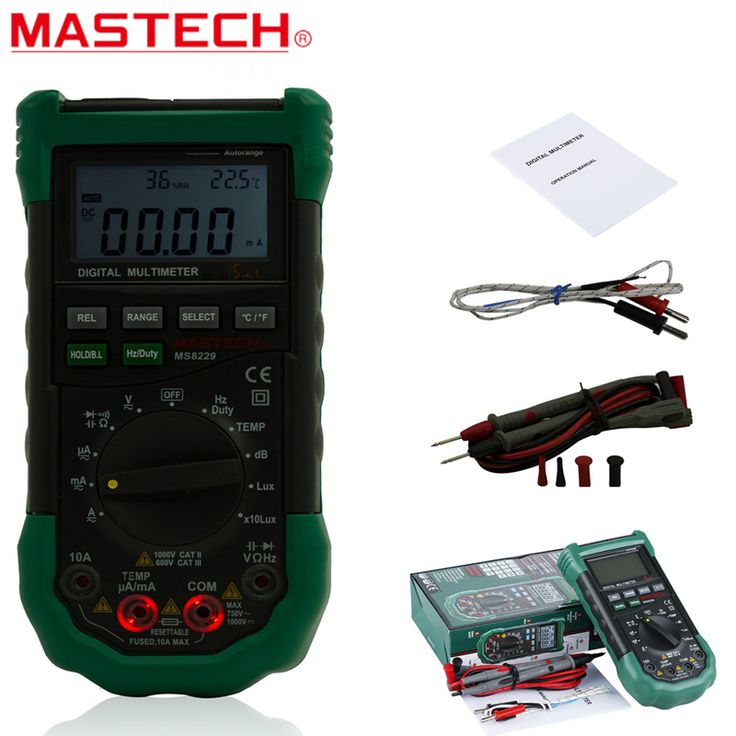 Mastech MS8229 5in1 AutoRange Multifunctional Digital