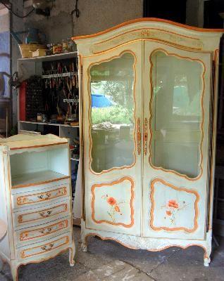 17 meilleures id es propos de meubles peints fran ais for Restauration meubles peints