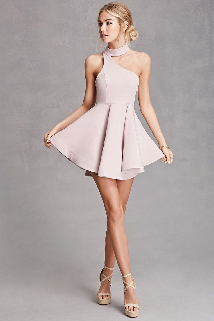 A Woven Body Hugging Mini Dress By Selfie With