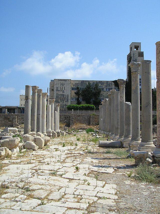ティルス - (1984年) Tyre Al Mina Agora ◆レバノン - Wikipedia http://ja.wikipedia.org/wiki/%E3%83%AC%E3%83%90%E3%83%8E%E3%83%B3 #Lebanon
