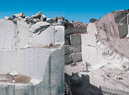 Cave di granito a Buddusò.