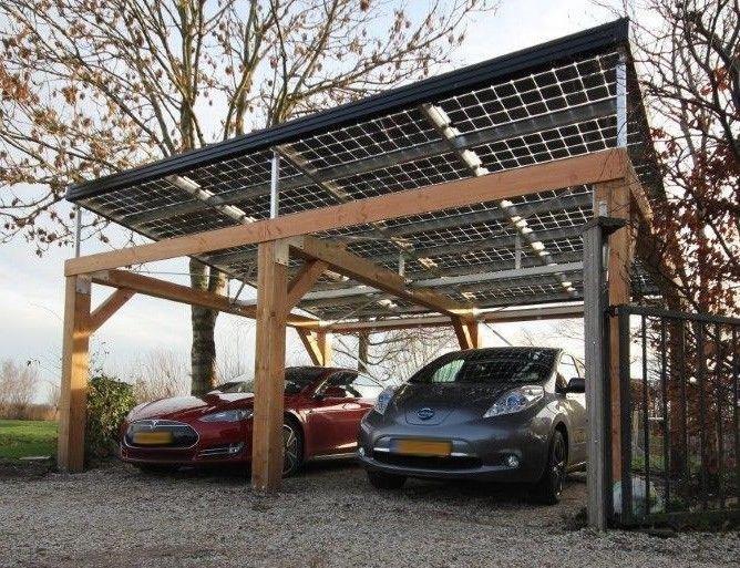 Mijn Energiefabriek Project Carport Met Doorzichtige Zonnepanelen Photoid 288112 Architectenweb Nl Solarener Solar Roof Solar Patio Solar Panels Roof
