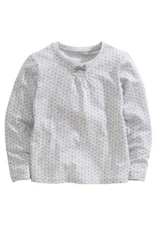 Buy Grey Glitter Star Top (3mths-6yrs) from the Next UK online shop
