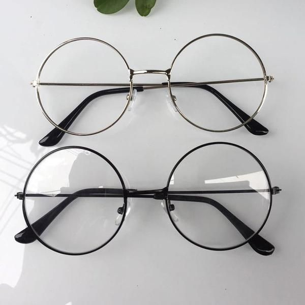beautiful Cosplay glasses round HarryPotter Glasses Frame COS