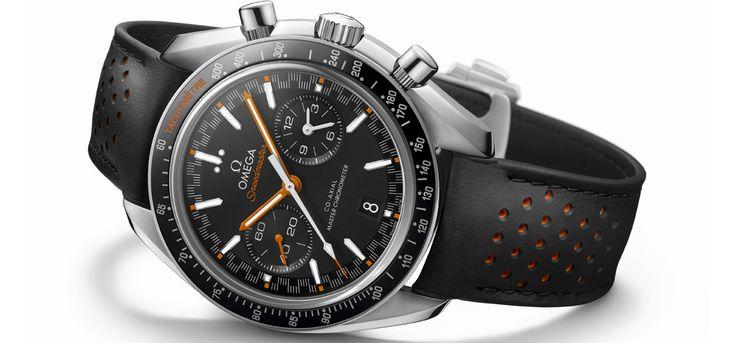 GQ vous dévoile chaque jour ses coups de cœur à l'occasion de la foire horlogère de Bâle (du 23 au 30 mars) qui fête cette année son centenaire. Aujourd'hui la Omega Speedmaster Automatique 60th.