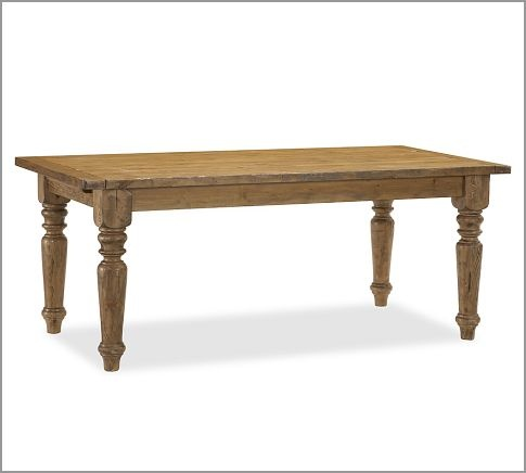 Farmhouse Style Table This One Is 76 Quot L X 40 Quot W X 30 5 Quot H