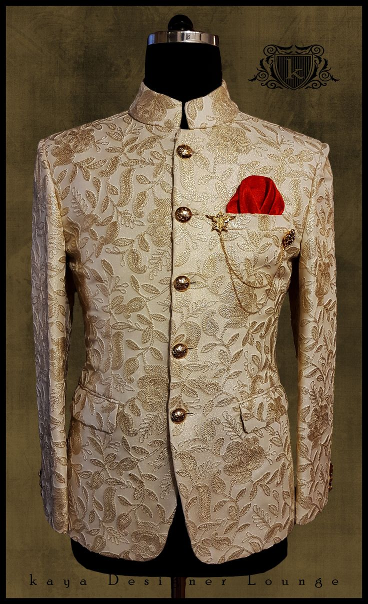 Traditional Wear Jacket Traditional Jacket Jodhpuri Bandhgala Jodhpuri Suit Ethnic Ethnic Jacket Pocket Square Mensfashion Designerwear Designermenswear Designermade Bandhgalas Indowestern Mensstyle Dapper Weddingwear Bespoke Custommade Suits Tailormade Handmade Classy Indianmenswear Festivelook Groomwear Latestdesign Designerwear Fall 2017-18
