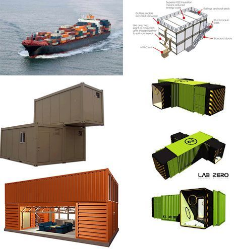 How To: Buy, Design or Build DIY Cargo Container Homes #cargocontainerhomes