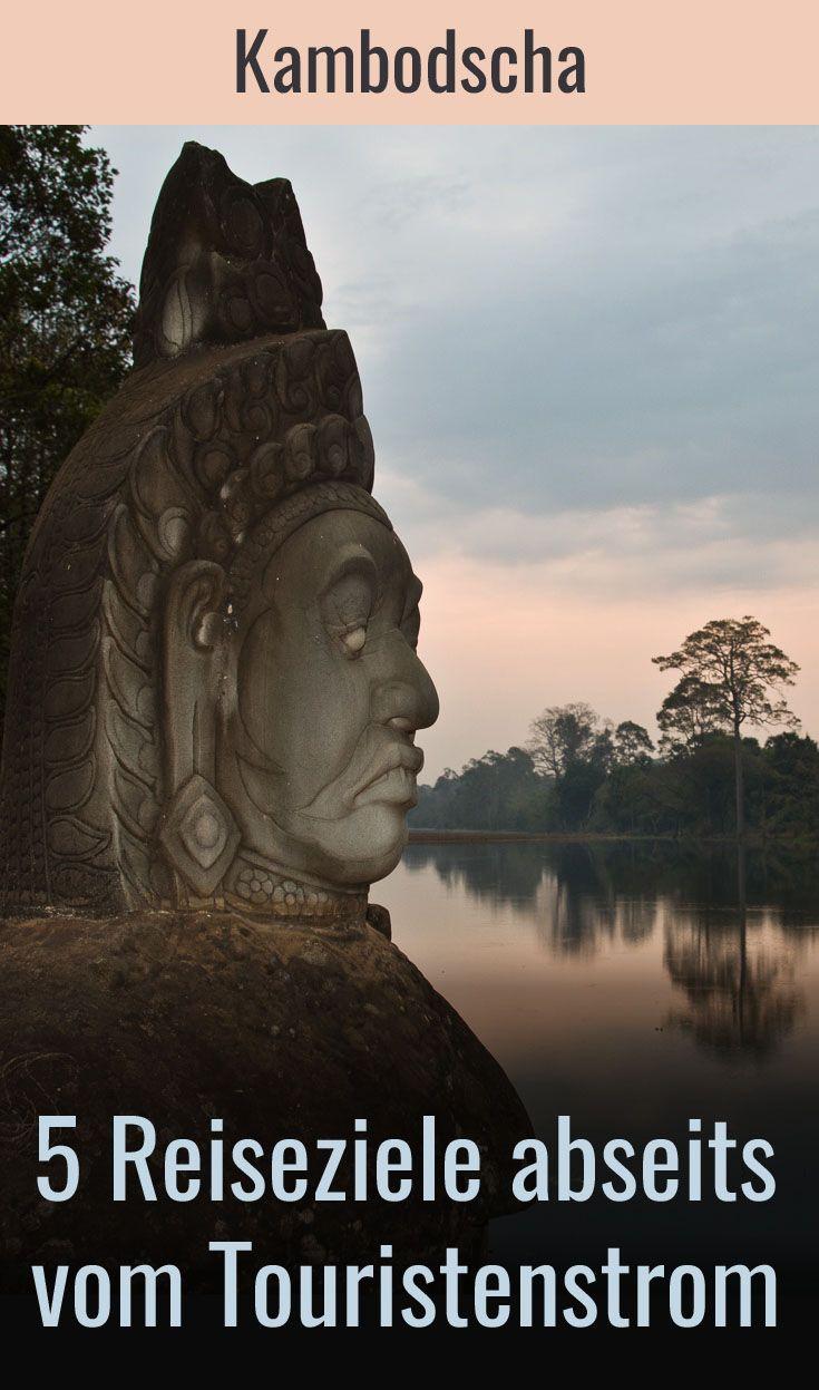 5 unbekanntere Reiseziele in Kambodscha abseits vom Touristenstrom inklusive Reisetipps findest Du in diesem Blogbeitrag. Abseits von Angkor Wat und Phnom Penh gibt es in Kambodscha unbekannte Orte. Ein Besuch lohnt!