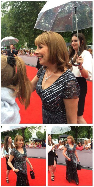 Downton Abbey Phyllis Logan Bafta Tribute Red Carpet..