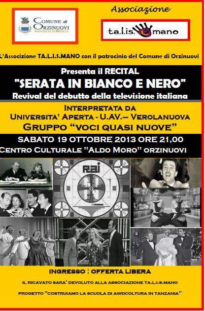 Serata in Bianco e Nero a Orzinuovi http://www.panesalamina.com/2013/17832-serata-in-bianco-e-nero-a-orzinuovi.html