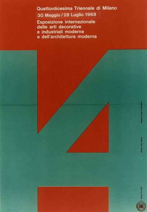 XIV Triennale di Milano, 1968