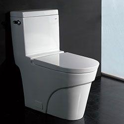 Ariel Platinum TB326M Contemporary Toilet #Ariel #HomeRemodel #BathroomRemodel #BlondyBathHome #Toilets