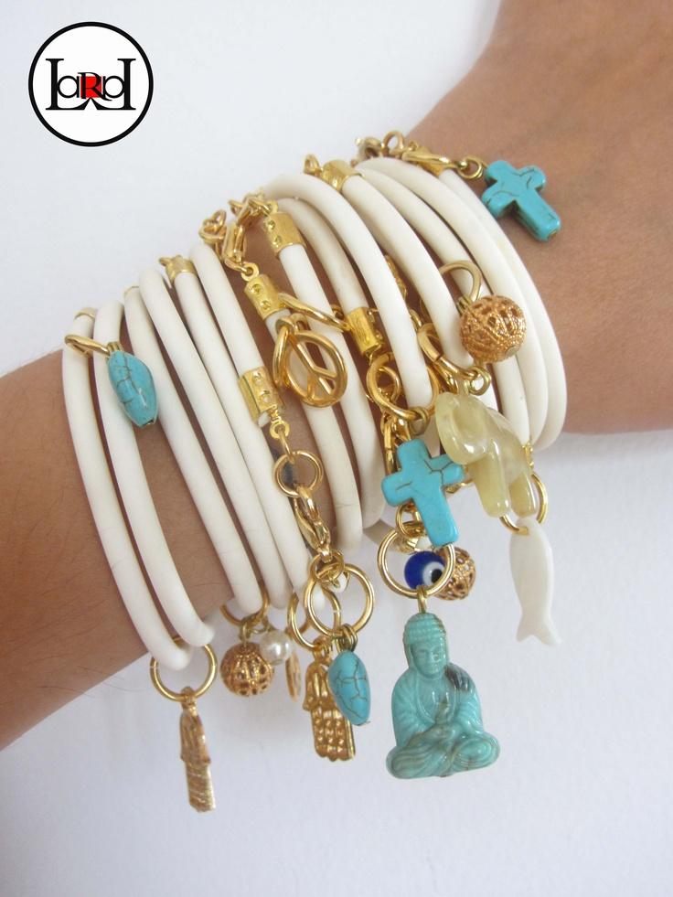 LARA ART Summer bracelets mix