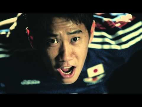 "Cheer Movie: "" #allin or nothing"" by Adidas : Ganbare, NIPPON!!! Ganbare Samurai Blue!!! : Japan : 2014 FIFA World Cup Brazil : #SamuraiBlue"