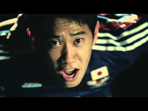 "Cheer Movie: "" #allin or nothing"" by Adidas : Ganbare, NIPPON!!! Ganbare Samurai Blue!!! : Japan : 2014 FIFA World Cup Brazil : #SamuraiBlue"