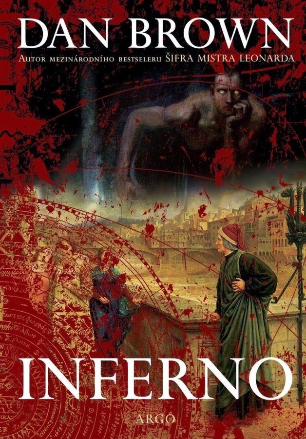 Dan Brown: Inferno | czech cover | #book #DanBrown #cover
