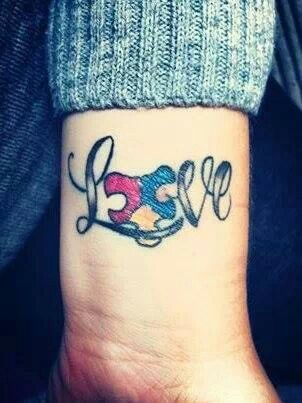 21 best images about autism tattoos on pinterest i will fight raising and autism tattoos. Black Bedroom Furniture Sets. Home Design Ideas
