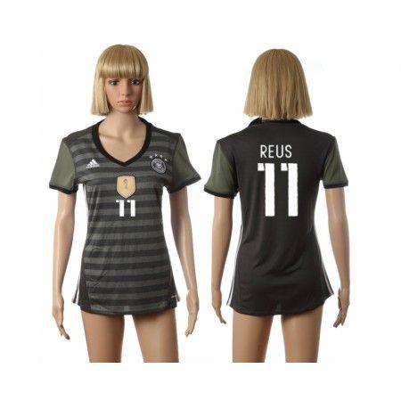Tyskland Trøje Dame 2016 #Reus 11 Udebanetrøje Kort ærmer,208,58KR,shirtshopservice@gmail.com